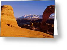 Delicate Arch, Arches National Park Greeting Card