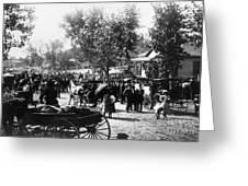 Denver: Healer, 1895 Greeting Card