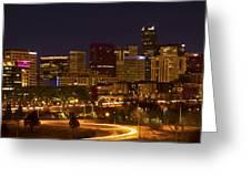 Denver Skyline Greeting Card