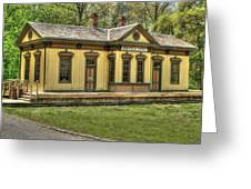 Chester Park Train Depot Greeting Card