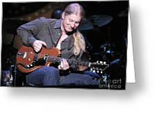 Guitarist Derek Trucks Greeting Card