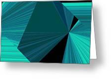 Design Square 32 Greeting Card
