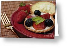 Dessert Tarts Greeting Card
