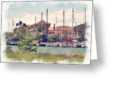 Detroit Yacht Club Greeting Card