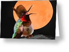 Teen Hummerwolf Greeting Card