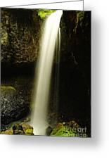 Devil Creek Falls Greeting Card