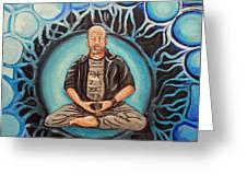 Dharma Dad Greeting Card