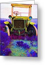 Diamond T Touring Car C.1911 Ghost Town South Pass City Wyoming 1971-2009 Greeting Card