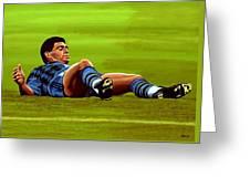 Diego Maradona 2 Greeting Card