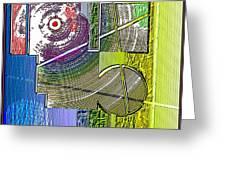 Digital Design 580 Greeting Card