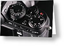 Digital Slr Camera Greeting Card