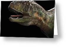 Dinosaur Aucasaurus Greeting Card
