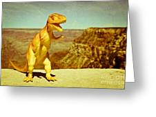 Dinosaure Greeting Card