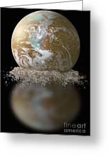 Dissolving Earth Greeting Card