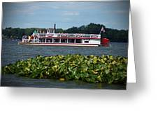 Dixie Boat Greeting Card by Thomas Fouch