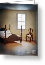 Dollhouse Bedroom Greeting Card