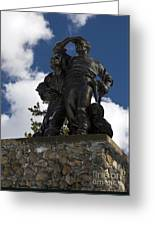 Donner Party Monument  Greeting Card