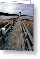 Doubling Point Lighthouse Greeting Card