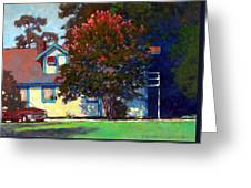 Doug's Apartment Greeting Card by Kevin Lawrence Leveque
