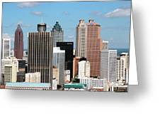 Downtown Atlanta Greeting Card