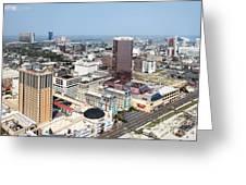 Downtown Atlantic City Greeting Card