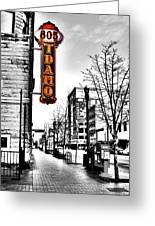 Downtown Boise Greeting Card