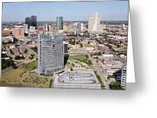 Downtown Fort Worth Skyline Greeting Card