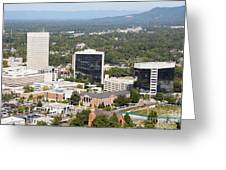 Downtown Greenville Greeting Card