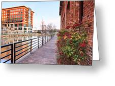 Downtown Greenville Sc Greeting Card