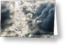 Drama In The Sky Greeting Card