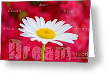 Dream Greeting Card by Darren Fisher