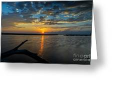 Dreamy Sunset 02 Greeting Card
