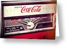 Drink Coca Cola Greeting Card