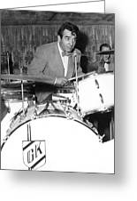 Drummer Gene Krupa Greeting Card