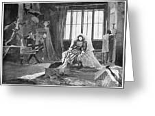 Du Maurier: Trilby, 1895 Greeting Card