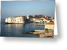 Dubrovnik In Croatia Greeting Card
