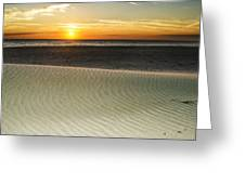 Dune Sunrise Greeting Card
