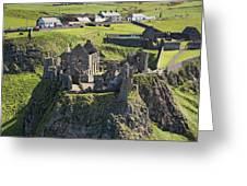 Dunluce Castle, Bushmills Greeting Card