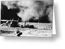 Dust Bowl, 1935 Greeting Card