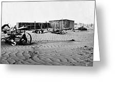 Dust Bowl, C1936 Greeting Card