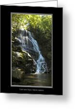Eastatoe Falls North Carolina Greeting Card