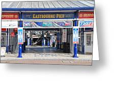 Eastbourne Pier Fire July 2014 Greeting Card