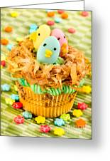 Easter Cupcakes  Greeting Card