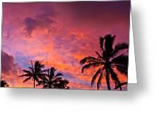 Easter Island Sunrise 2 Greeting Card