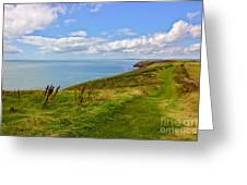 Edge Of The World Greeting Card by Jeremy Hayden