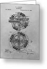 Edison's Phonograph Patent Greeting Card