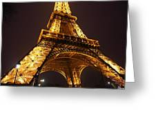 Eiffel Tower - Paris France - 011314 Greeting Card by DC Photographer