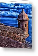 El Morro Fortress Greeting Card