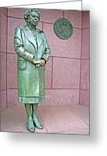 Eleanor Roosevelt -- 1 Greeting Card by Cora Wandel