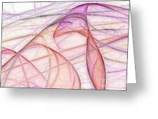 Elegant Abstract Background Greeting Card